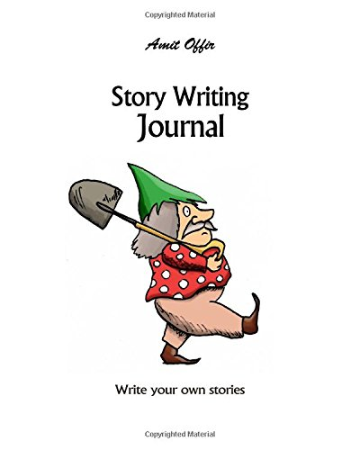 Download Story Writing Journal: Blank Writer's Story Books with Lines For Authors, Students and Kids 8x10 Inches,170 Pages (Volume 15) pdf