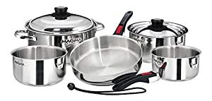 Magma Nesting Stainless Steel Cookware Set