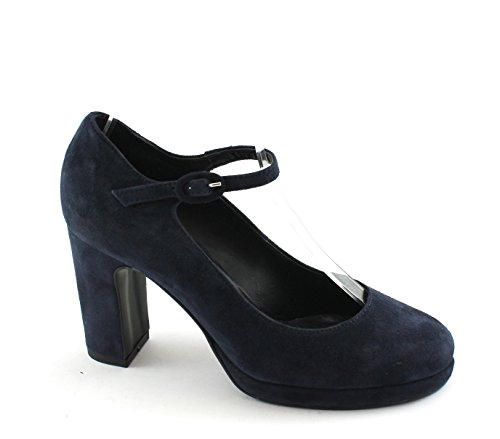 Heel Big Women's 900 Blue Shoes decollet Divine Strap Follie Blu pYfqt0