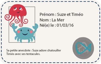 Tichoups Chaussons b/éb/é cuir souple Suze et Timeo la mer 27//28