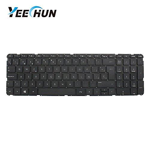 YEECHUN Black Spanish Layout Repalcement Keyboard for HP Sleekbook Ultrabook Pavilion 15 15U 15T 15Z 15-B 15-U 15-b000 15z-b000 15T-B000 15T-B100 SG-58000-XUA Series
