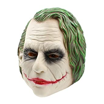 Amazon.com: Máscara Joker para disfraz de Halloween, máscara ...