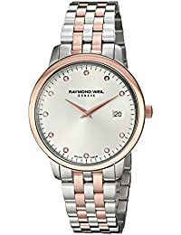 Womens Toccata Swiss Quartz Stainless Steel Dress Watch, Color:Two Tone (Model
