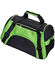 Portable Pet Bag, Pet Carrier Backpacks Foldable Soft Sided Backpack Airline Approved Pet Travel Carrier Bag Ventilated Breathable Pet Carrier with Sling for Dogs and Cats Camping Hiking