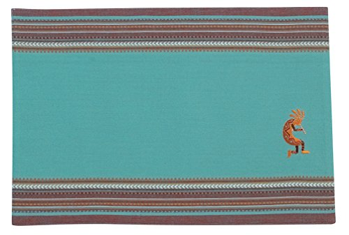 Kay Dee Placemat (Kay Dee Designs Kokopelli Embroidered Placemats (Set of)