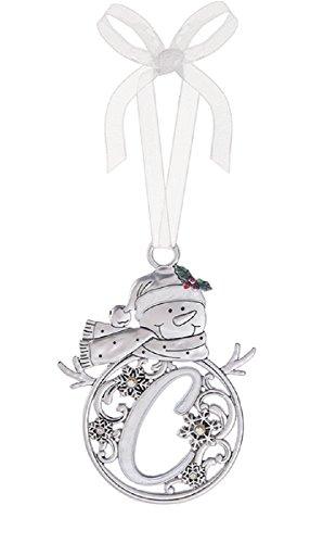 Ganz Christmas Snowman Hanging Ornament C