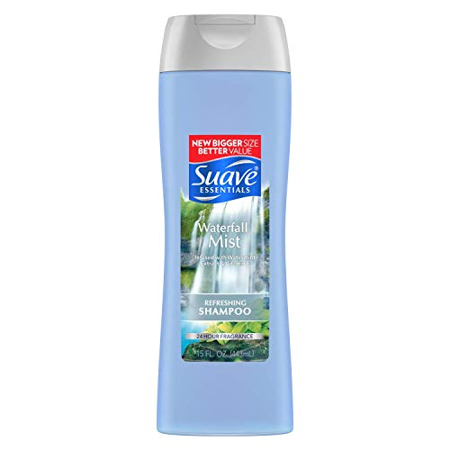 Suave Essentials Waterfall Mist Shampoo 15 oz