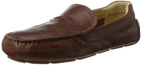 Sebago Kedge Venetian, Mocasines para Hombre Marrón (Brown Oiled Waxy Lea)