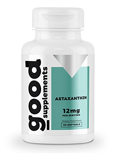 Max Strength Astaxanthin 12 mg - Natural Antioxidant for Skin Support, Eye Care, and Joint Health, Powerful Antioxidant, Results, 30 Softgels