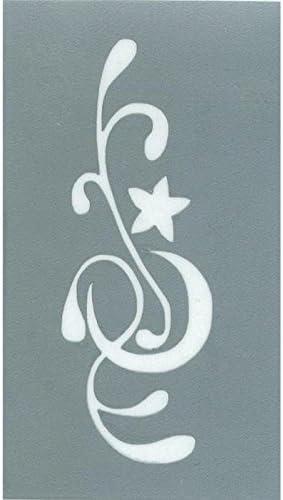 plantilla para tatuajes Luna y Estrella – Stamperia rdb048: Amazon ...