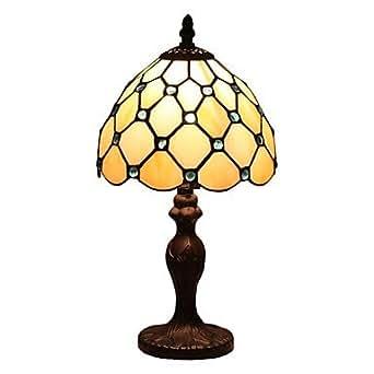 Lámparas de mesa metal-Tiffany-de-protección de los ojos, 220-240 V