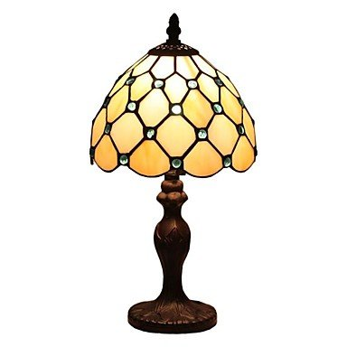 Tiffany Mini Lamp With Ocean Blue Beads