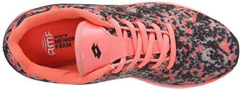 LottoARIANE IV PRT AMF W - zapatillas de running Mujer Naranja - Orange (ROS NEO/MARMOR)