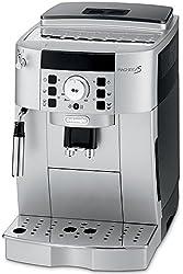 DeLonghi ECAM22110 Compact Automatic Italian Espresso Machine with Cappuccino and Latte System (Silver Black)