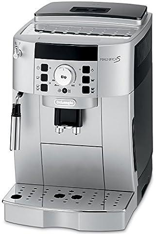 DeLonghi ECAM22110 Compact Automatic Italian Espresso Machine with Cappuccino and Latte System (Silver - Jura Capresso Thermal Milk Container