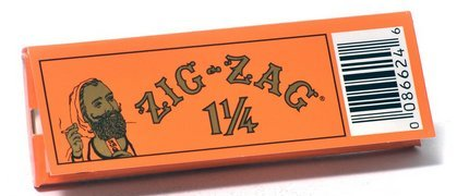 Zig Zag Orange Rolling Papers 1 1/4 - 5 Packs