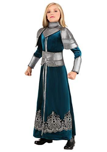 Girl's Medieval Warrior Costume ()