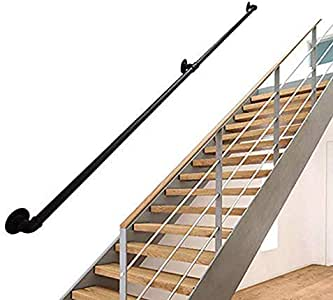 CTO 25-550Cm Multifunction Iron Pipe Stair Handrail Fence