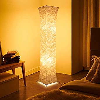 Fy-Light Lámpara de pie, 132 Lámparas de pie modernas de tela para ...