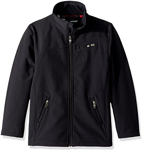 Black Spyder Big Boys' Softshell Jacket pwBFIqw