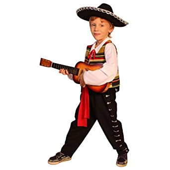 Mexican Mariachi- Toddler T4  sc 1 st  Amazon.com & Amazon.com: Mexican Mariachi Kids Costume By Dress Up America: Clothing