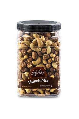Jaybees Nuts Snack Trail Munch Mix - Great Mixed Nuts Snack for Home Office or Holiday Gift Giving Sweet & Crunchy