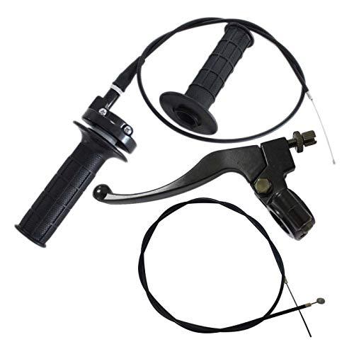 Annpee Left Brake Clutch Lever Bike Brake Cable 7/8