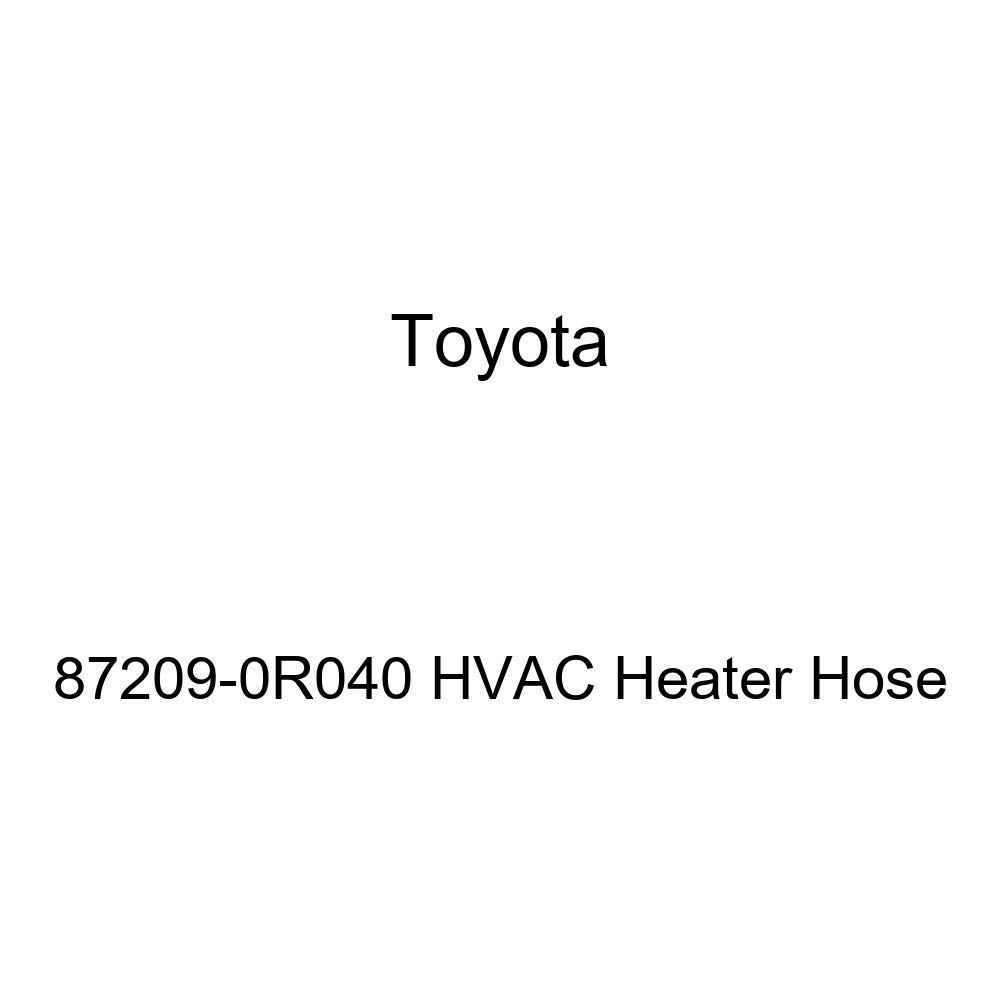 Toyota 87209-0R040 HVAC Heater Hose