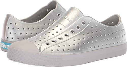 - Native Shoes Unisex Jefferson Silver Metallic/Mist Grey 15 Women / 13 Men M US
