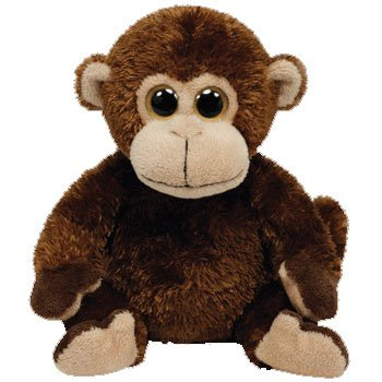 TY Beanie Baby - VINES the Monkey (2012 version with Big Eyes)