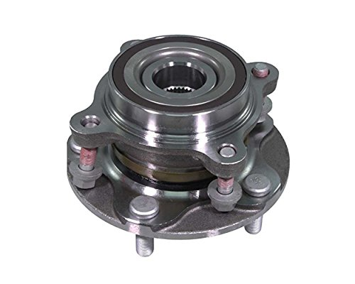 (DTA Front Wheel Bearing & Hub Full Assembly NT515103G3 Brand New Fits 4WD Tundra Sequoia Land Cruiser LX570 With Studs. Will NOT Fit 2WD)
