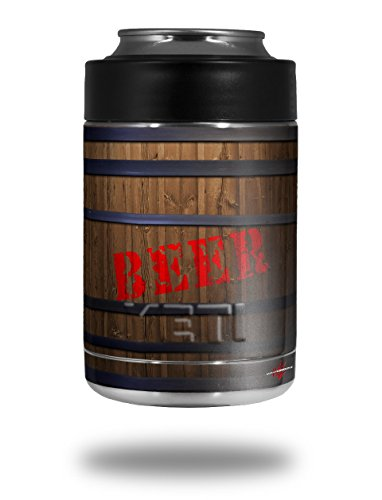 Beer Barrel - Decal Style Skin Wrap fits Yeti Rambler Colster and RTIC Can (COOLER NOT INCLUDED)