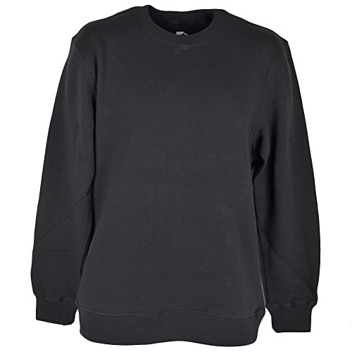 Starter Black Fleece Pullover Sweater Blank Winter Mens Adult Crew Neck Medium (Starter Hoodie Men compare prices)