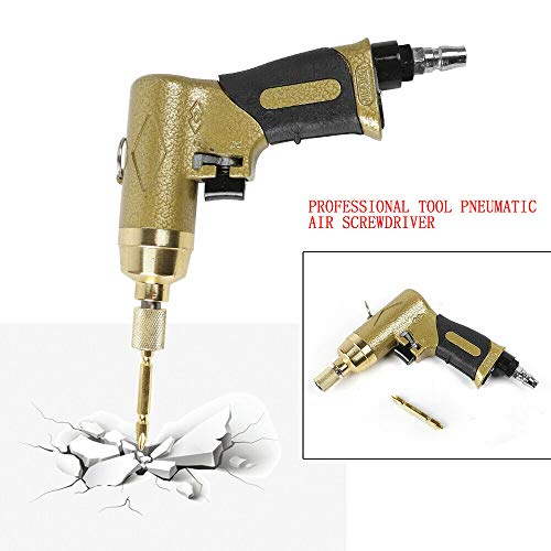 "Pneumatic Air Screwdriver Gun – 1/4"" Screw Driver Screw Nuts Drill Tool 8000RPM"