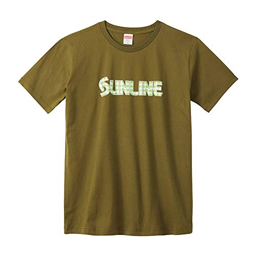[해외]썬 라인 (SUNLINE) 코 튼 T 셔츠 SUW-1381T 시티 그린 L / SUNLINE Cotton T-shirt SUW-1381T City Green L