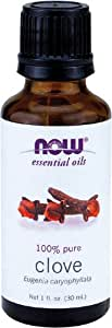 Now Essential Oils, Clove Oil, 1 Ounce (2 Pack)