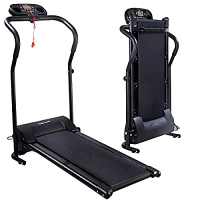 Gracelove [US STOCK] Black 800W&500W Portable Folding Electric Motorized Treadmill Running Jogging Machine