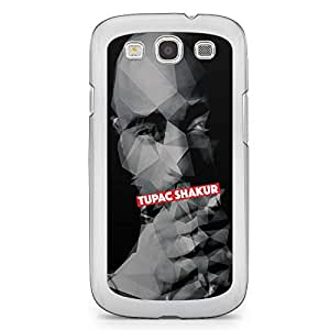 Tupac Samsung Galaxy S3 Transparent Edge Case - Heroes Collection