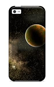 Snap-on Case Designed For Iphone 5c- Planet In The Stardust