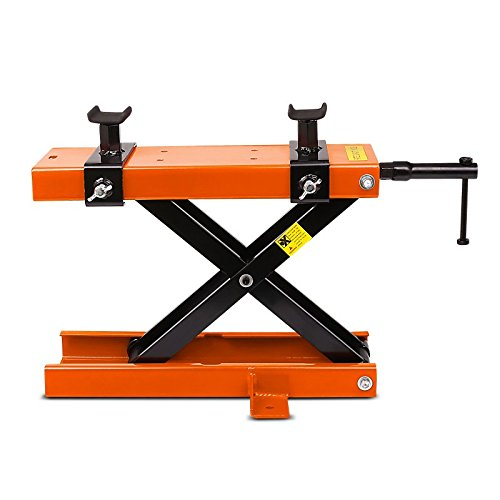 Motorbike Motorcycle jack lift scissor jack lift ConStands Mini Harley Davidson Sportster Forty-Eight 48 (XL 1200 X) orange