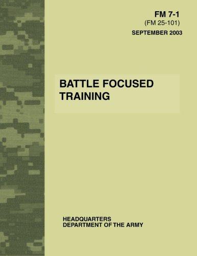 Battle Focused Training (FM 7-1) PDF