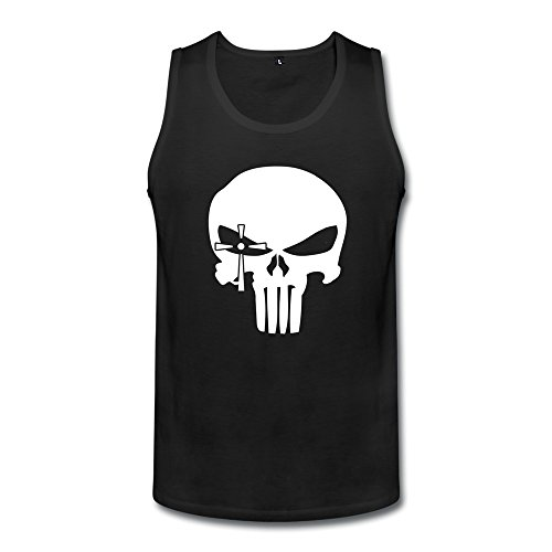 DeMai Mens Short Sleeve American Sniper Skull 1 Tanks T Shirt XL Black - Th American Sniper
