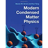 Modern Condensed Matter Physics