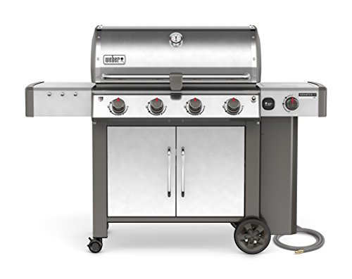 Weber Natural - Weber 67004001 Genesis II LX S-440 Natural Gas Grill, Stainless Steel