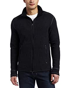 prAna Men's Barclay Sweater,Charcoal,Small
