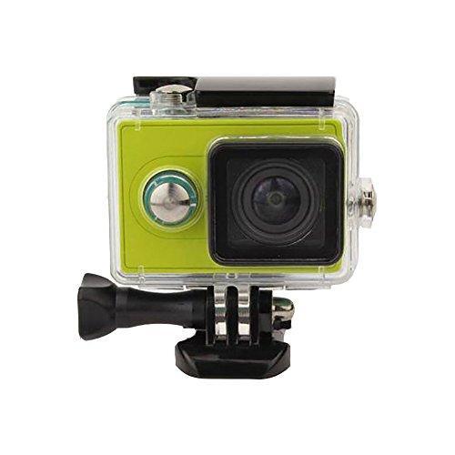 Caracol tienda Underwater carcasa protectora funda impermeable para Xiaomi yi cámara de acción & # xFF08; cuadrado tipo & #...