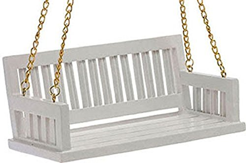 Dollhouse Miniature Porch Swing in (Dollhouse Swing)