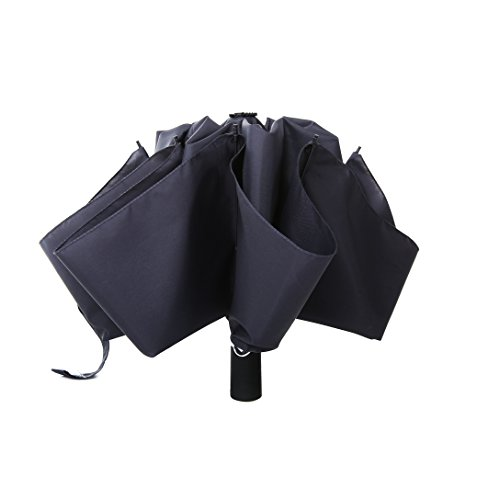 ing Umbrella Windproof Travel Umbrella Compact With Inside Out Design Folding Inverted Umbrella Golf Automatic for Man Women, Upside Down Short Umbrella Auto Open Close (Tent Compact Short)