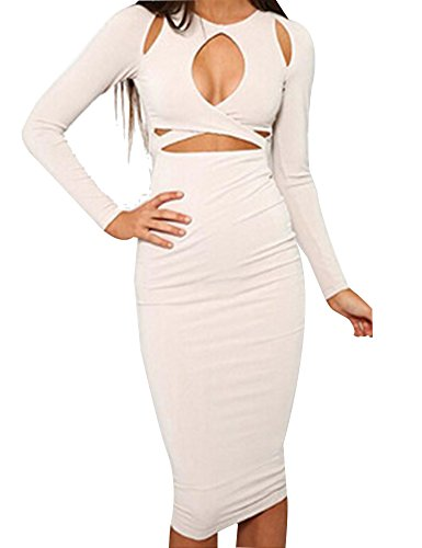 Allegrace Sleeves Bodycon Bandage Dresses