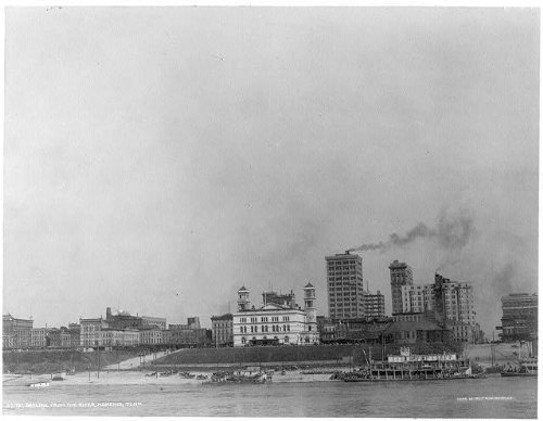 Photo: c1911 Skyline from the river, Memphis, Tennessee, - Memphis Tn Shopping
